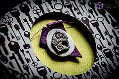 Papiernictvo - Pohľadnica so šperkom - 3995504_