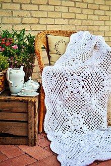Úžitkový textil - Deka z