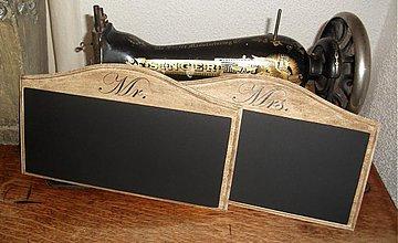 - svadobné tabuľky 2 ks - 3995993_