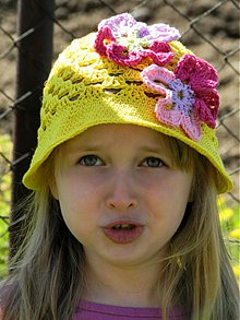 Detské čiapky - Klobúčik
