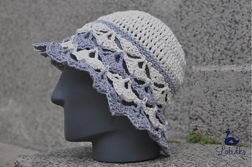 7be480aa8 Prírodný klobúk s ľanom / Labutka - SAShE.sk - Handmade Čiapky
