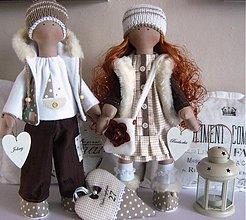 Bábiky - Barborka a Johny - 3998441_