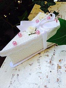 Darčeky pre svadobčanov - Darčeková krabička pre svadobčanov - 3999114_