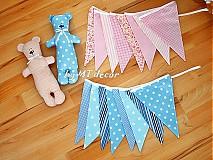 Tabuľky - Vlajky, girlandy - 3998936_