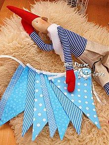 Detské doplnky - Vlajky, girlandy, do fotoštúdia - 3998838_