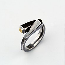 Prstene - Two nails ring - 4002339_