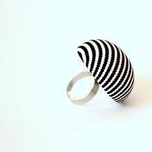 Prstene - Mushroom button ring - oversize prsteň z buttonu - 4002822_