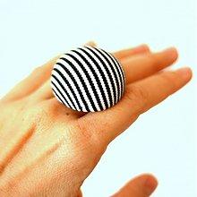Prstene - Mushroom button ring - oversize prsteň z buttonu - 4002824_