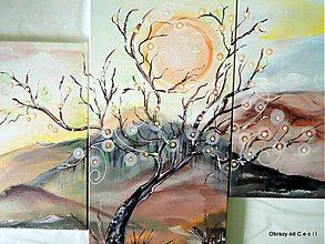 Obrazy - Svetielka nádeje/ trojdielny obraz - 4004406_