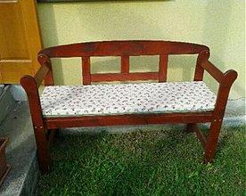 Úžitkový textil - Šijeme sedáky aj na záhradné lavičky - 4002365_