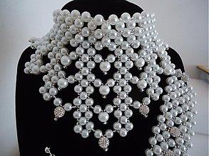 Sady šperkov - Svadobný setík pre Peťku - 4002881_