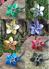 Náhrdelníky - Lotosový Kvet - prívesok - 4008611_