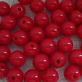 - COLOR plast 10mm-červená-10ks - 4015674_