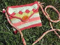 Taštičky - kabelka pre malú slečnu ♥ - 4014141_