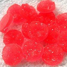 Komponenty - Kabošon plast 12mm-1ks (červenoružová) - 4015891_