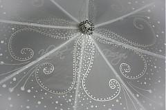 romantický dáždnik