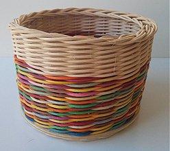 Košíky - Farebný veselý - 4021252_