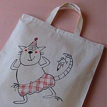 Nákupné tašky - SKOTSKÁ KOSTKA - nákupní taška - 4019638_