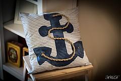 """Úžitkový textil - Vankúšik """"Nautical style"""" - 4024770_"""