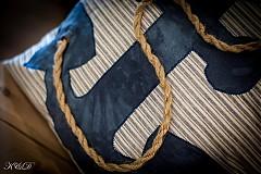 """Úžitkový textil - Vankúšik """"Nautical style"""" - 4024777_"""