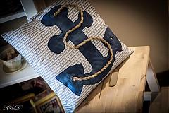 """Úžitkový textil - Vankúšik """"Nautical style"""" - 4024778_"""
