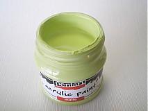 - Akrylová farba - limeta - 4026842_