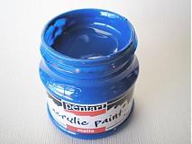 Farby-laky - Akrylová farba - modrá - 4026886_