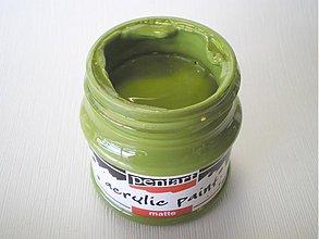 Farby-laky - Akrylová farba - olivová - 4026801_