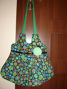 Veľké tašky - Green Flowers in Alabama - 4027402_