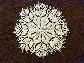Úžitkový textil - Dečka s kvetmi - 4030123_