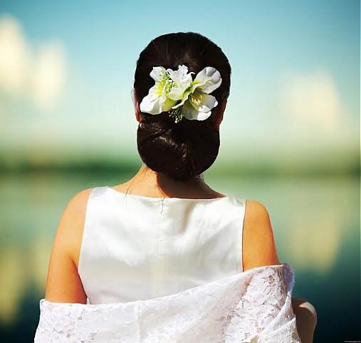 Ozdoby do vlasov - Ľaliová ozdoba do vlasov - 4034481_