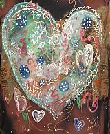Oblečenie - XL úlet..hippies srdce - 4035971_