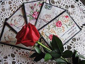 Úžitkový textil - Listy z Paríža - 4037874_