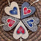 Dekorácie - Srdce makové - 4036273_