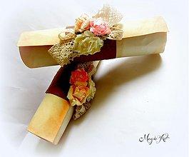 Darčeky pre svadobčanov - Poďakovanie pre rodičov