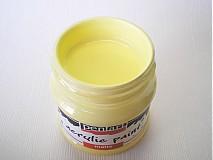 - Akrylová farba - vanilka - 4040683_