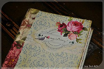 Papiernictvo - Little Blue Bird Diary :) - 4041292_