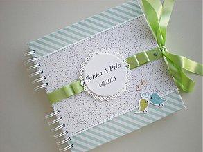 Papiernictvo - Kniha hostí s vtáčikmi - 4046337_