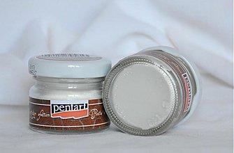 Farby-laky - Antikovacia pasta 20 ml, biela - 4046020_