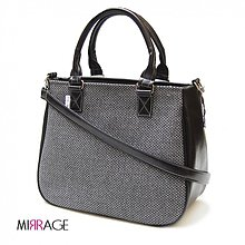 Kabelky - Chiara n.29 black & grey - 4045045_