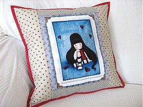 Úžitkový textil - Má mě rád, nemá mě rád.....- roztomilý polštářek - 4046179_