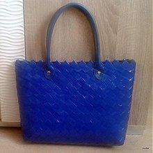 Kabelky - veľká modrá ecoistka - 4043386_