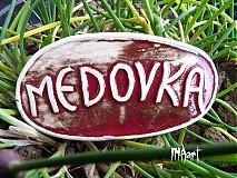 Dekorácie - Zápich Medovka - posledné ks - 4050016_