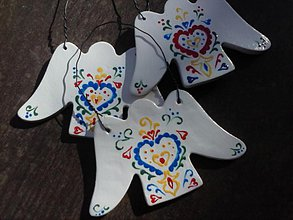 Dekorácie - anjel/ornament - 4046677_