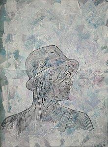 Obrazy - AKCIA-Žena v klobúku - 4053976_