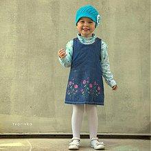Detské čiapky - Šiltovka tyrkysová - 4051948_