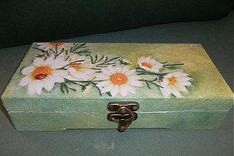 Krabičky - s margarétkami - 4052425_