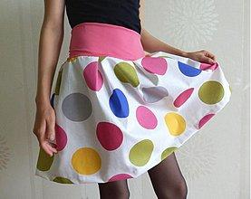 Sukne - ***Puntíkatá sukně*** - 4054925_