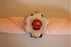 Dekorácie - Krúžky na servitky 6ks - 4057660_