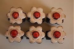 Dekorácie - Krúžky na servitky 6ks - 4057661_